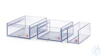108A-E Polycarbonate Bath 108A-EWidth bath opening WxD: 130x390 mmBath depth:...