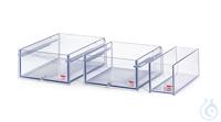 110A-E Polycarbonate Bath 110A-EWidth bath opening WxD: 130x490 mmBath depth:...
