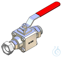 Ball Valve M38x1,5 Ball Valve M38x1,53 part body, DN25Material 1.4404Seal...