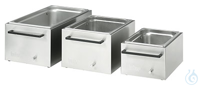 225B Stainless Steel Bath (insulated) 225BWidth bath opening WxD: 290x500...