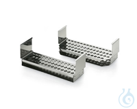 test tube rack s.steel Typ 1 Zubehör - Einsätze