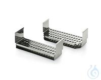 test tube rack s.steel Typ 2 Zubehör - Einsätze