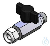 drain cock M16x1 ball valve, M16x1temperature range: -20°C ... +140°C(max. 6...