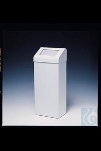 Kimberly-Clark Professional™ Sammelbox, 60 Liter Material: Metall Farbe: Weiß...