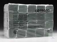 Handtücher - Z-folded / Grün /Klein Farbe: Schwarz Lagen: 1 Faltung: ZZ Größe: 23,00cm x 25,00cm...