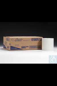 Scott® Handtücher - Rolle Material: Airflex™ Farbe: Weiß Lagen: 1 Größe:...