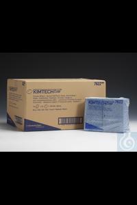 KIMTECH* Prozeßwischtücher - Viertelgefaltet / Blau Material: Polypropylen Farbe: Transparent...