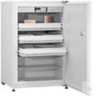 Medikamenten-Kühlschrank MED-125 +2...+8°C, abschließbare Türen, DIN-Norm...