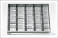 Alu-Längsteiler, 328 mm lang, 56 mm hoch,;95/120/280/330-Ltr. Modelle, für...