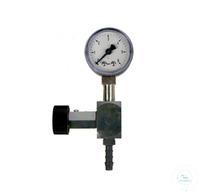 Feinregulierventil mit Manometer Zubehör für N 86 KT.18 Feinregulierventil mit Überdruckanzeige...