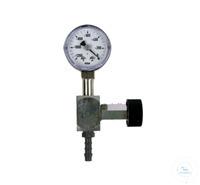 Feinregulierventil mit Vakuummeter  Zubehör für N 86 KT.18 Feinregulierventil mit Vakuumanzeige...